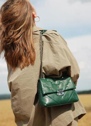 Жіноча сумка женская сумка чорна кроссбоді