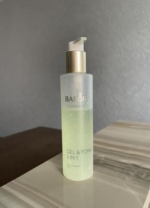 Babor cleansing gel & tonic 2 in 1 гель для умывания