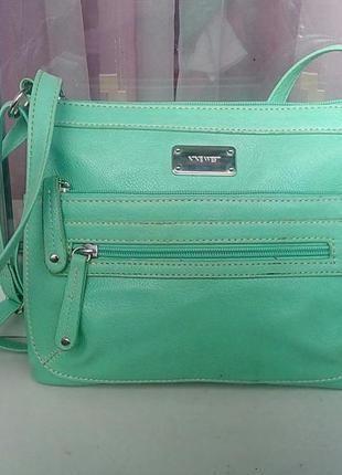 186a3cb9b5d7 Стильная фирменная сумка мятного цвета nine west. Nine West, цена ...
