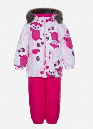 Зимний комплект (куртка + полукомбинезон) huppa
