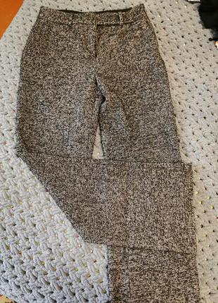 Брюки штаны клёшь тёплые широкие женские