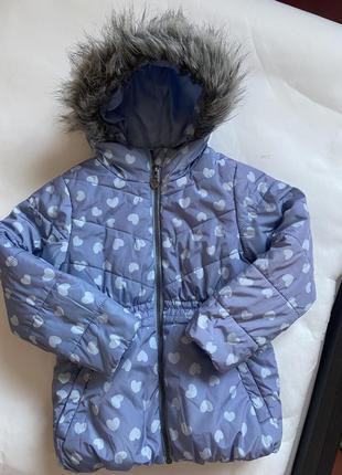 Куртка charles voegele  на девочку 5лет