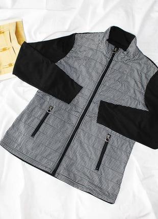 Мастерка в гусиную лапку jrb golf куртка накидка