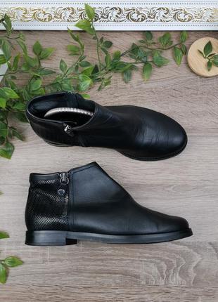 🌿36🌿европа🇪🇺 geox. кожа. качественные фирменные ботинки