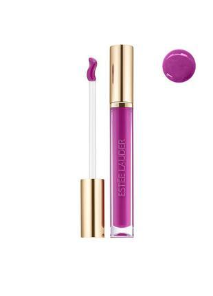 Жидкая лаковая губная помада estee lauder pure color love shine liquid lip