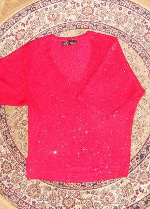Нарядный свитер love republic