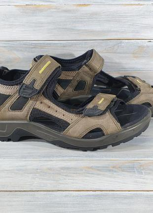 Оригинальные стильные сандали ecco оригінальні босоніжки