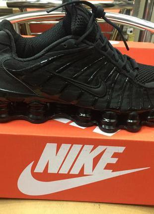 Мужские кроссовки nike shox tl black