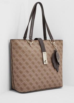 Фирменная стильная качественная каркасная сумка шопер
