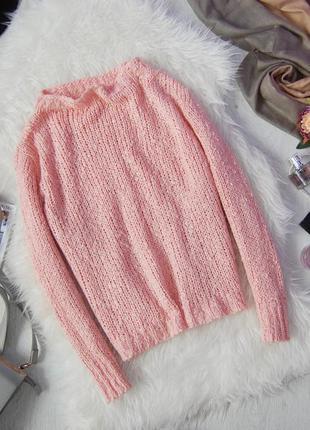 Свободный свитерок пудрового цвета george
