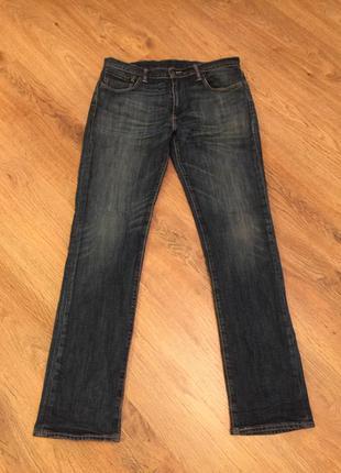 Аутентичные джинсы levis модель 511  w33 рост 32 унисекс