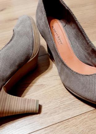 Туфли бежевые marco tozzi