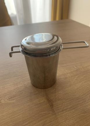 Ситечко iherb нержавійка для заварювання чаю в кружці