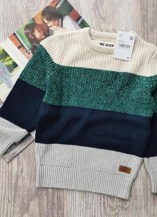 Объёмный плотный свитер, свитерок