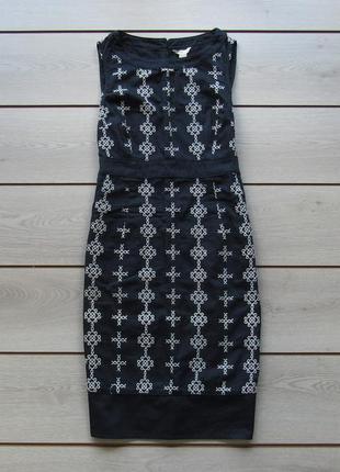 Хлопковое платье с вышивкой от monsoon