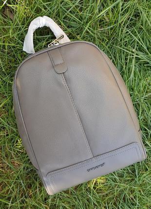 Стильный городской серый женский рюкзак #6014 david jones