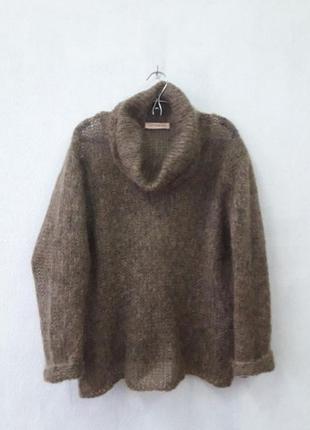 Мохеровый свитерок