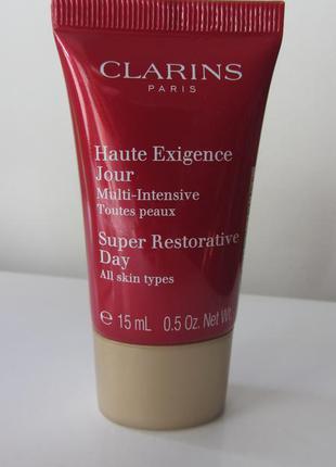 Восстанавливающий дневной крем для любого типа кожи clarins super restorative day cream