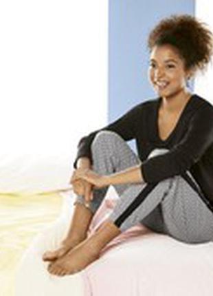Женская пижамная футболка с длинным рукавом/ кофта для дома/ esmara германия
