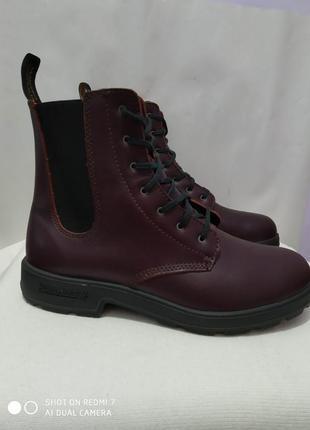Кожаные демисезонные ботинки blundstone