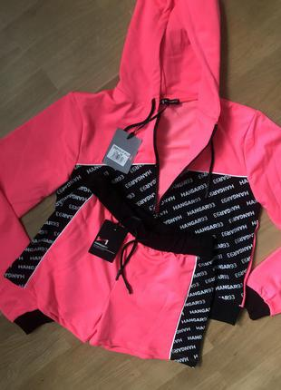 Костюм з шортами для дівчинки