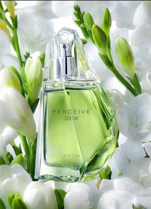 Свіжий аромат perceive dew (зелений) 50 мл avon
