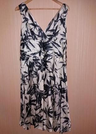 Платье миди 50 размера