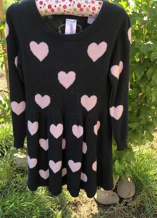 Тёплое мягкое платье palomino 98 рост