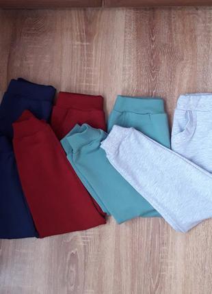 Детские спортивные штаны, спортивные штаны для мальчика, спортивные штаны для девочки, детские джоггеры, однотонные джоггеры, джоггеры для девочки