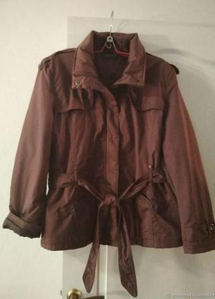 Gina benotti утепленная куртка большой размер