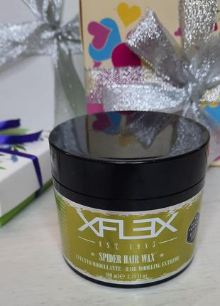 Воск моделирующий для коротких волос edelstein xflex spider hair wax
