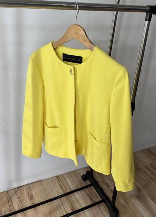Пиджак укороченный