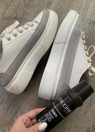 Крем-краска для обуви coccine bianco