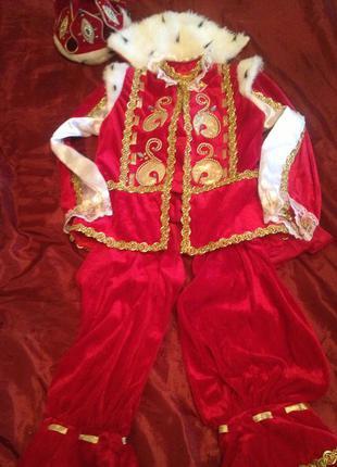 Карнавальный новогодний костюм принц король