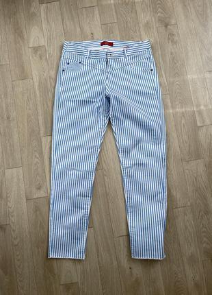 Штаны брюки полоска