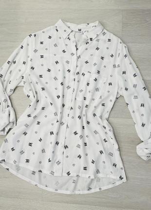 Рубашка бульдог