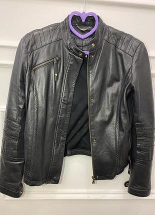 Кожаные брендовые куртки