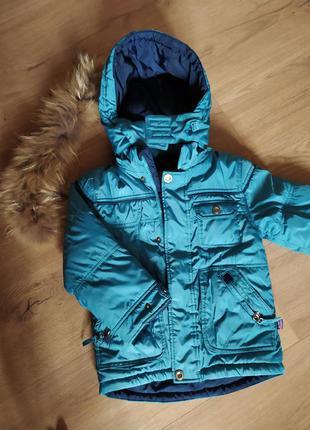 Куртка осень-зима на мальчика