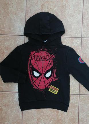 Стильная кофта модная кофточка худи spider-man