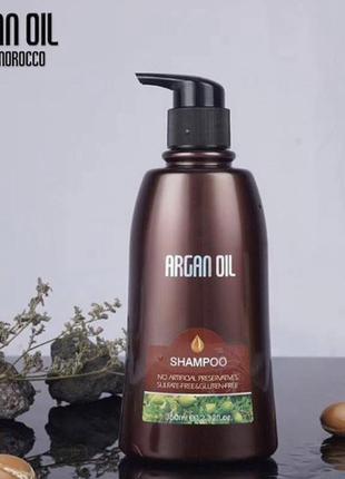 Шампунь argon oil bingo, 350  мл