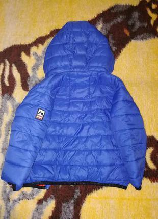 Деми курточка намальчика на 3года