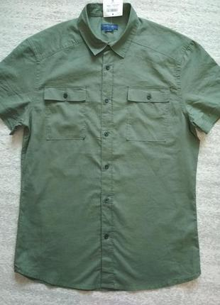 Тонкая хлопковая рубашка