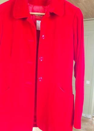 Kenzo велюровый пиджак