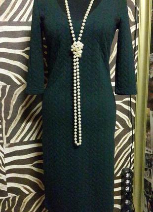 Элегантное изумрудное платье   diva