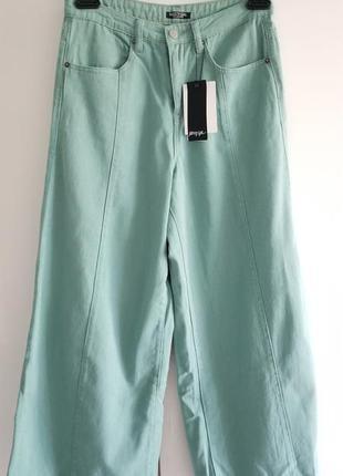Стильные джинсы кюлоты