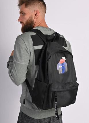 Рюкзак чоловічий, міський, шкільний чорний