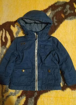 Курточка весенняя на 2—3 годика