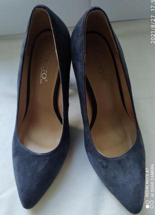 Замшевые туфли prego