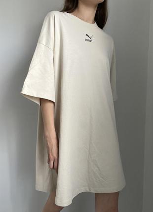 Платье футболка puma