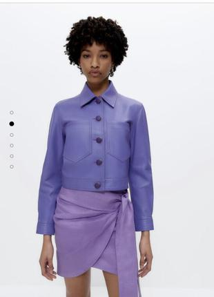 Куртка шкіряна, бренд uterque